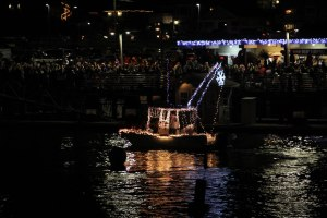 Boatparade, fishing boat