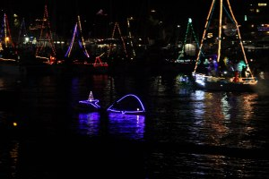 Boatparade whale