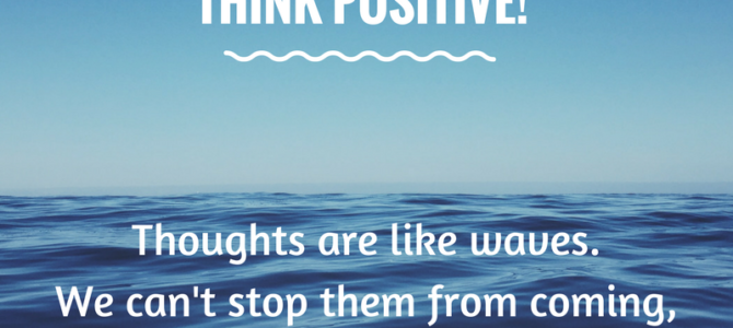 Choosing Our Thoughts Can Make us Happier